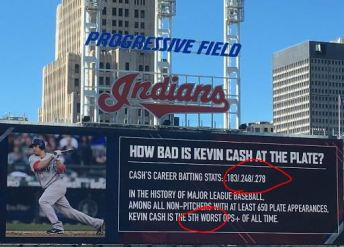 Terry Francona's prank to Kevin Cash